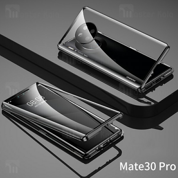 قاب مگنتی 360 درجه هواوی Huawei Mate 30 Pro Magnetic 3 in 1 Case دارای گلس صفحه و محافظ لنز