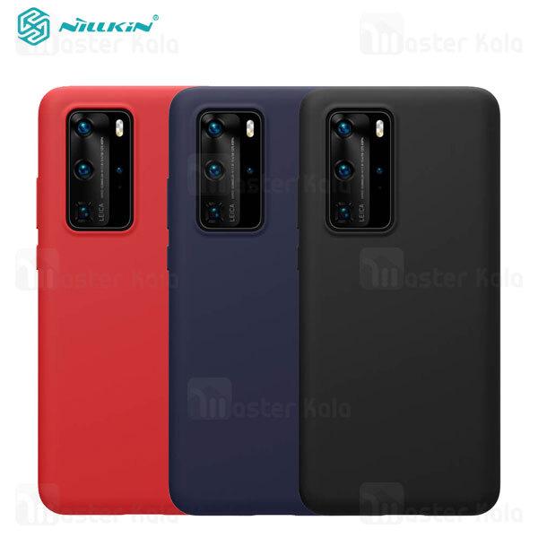 قاب سیلیکونی نیلکین هواوی Huawei P40 Pro Nillkin Flex PURE Cover Case