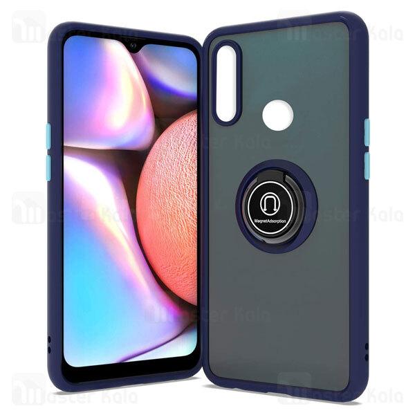 قاب مات هیبریدی انگشتی Huawei Y9 Prime 2019 / Honor 9x Global Matte Hybrid Ring Case