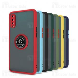 قاب مات هیبریدی انگشتی Huawei Y9s / Honor 9x Pro Matte Hybrid Ring Case