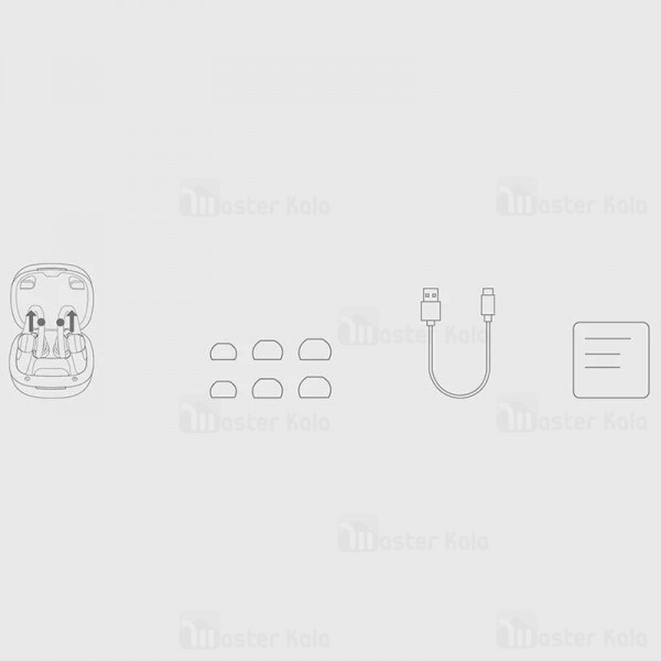 هندزفری بلوتوث دو گوش کیو سی وای QCY T6 TWS Earbuds