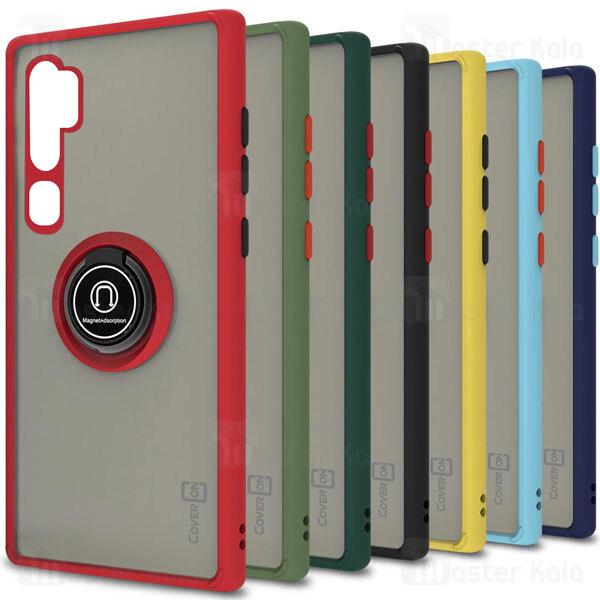 قاب مات هیبریدی انگشتی Xiaomi Mi CC9 Pro / Mi Note 10 / Note 10 Pro Matte Hybrid Ring Case