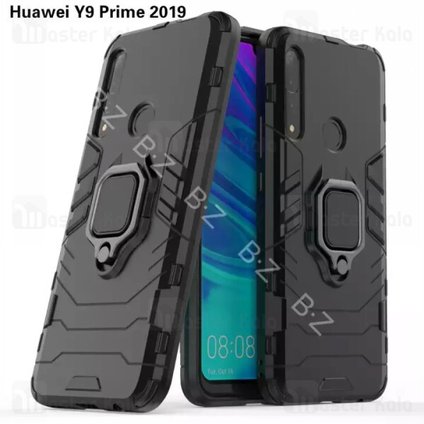 گارد ضد ضربه انگشتی Huawei Y9 Prime 2019 / Honor 9x Global KEYSION ShockProof Armor Ring