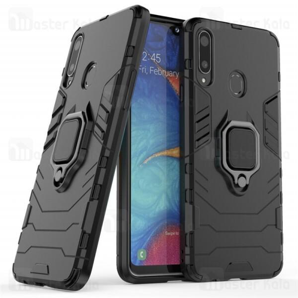 گارد ضد ضربه انگشتی Samsung Galaxy A10s / A107 KEYSION ShockProof Armor Ring
