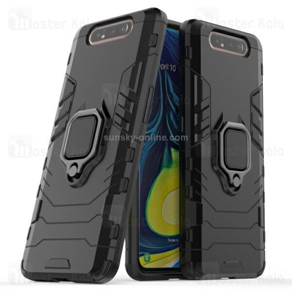 گارد ضد ضربه انگشتی Samsung Galaxy A80 KEYSION ShockProof Armor Ring