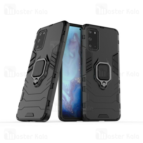 گارد ضد ضربه انگشتی Samsung Galaxy S20 KEYSION ShockProof Armor Ring