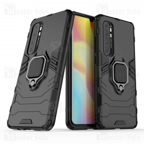 گارد ضد ضربه انگشتی Xiaomi Mi Note 10 lite KEYSION ShockProof Armor Ring