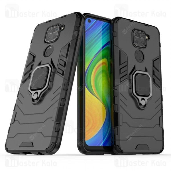 گارد ضد ضربه انگشتی Xiaomi Redmi Note 9 / Redmi 10x 4G KEYSION ShockProof Armor Ring