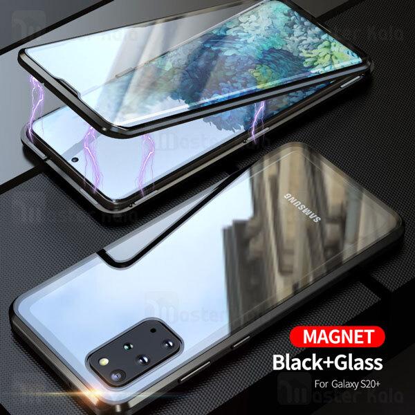 قاب مگنتی 360 درجه Samsung Galaxy S20 Plus Magnetic 2 in 1 Case دارای گلس صفحه
