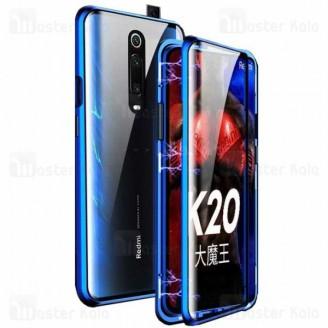 قاب مگنتی 360 درجه شیائومی Xiaomi Redmi K20 / K20 Pro / Mi9T / Mi9T Pro Magnetic 2 in 1 Case دارای گلس صفحه