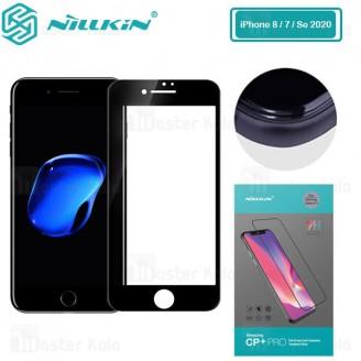 محافظ صفحه نمایش شیشه ای تمام صفحه تمام چسب آیفون Apple iPhone 7 / 8 / SE 2020 Nillkin CP+ Pro