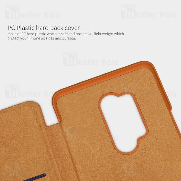 کیف چرمی نیلکین وان پلاس OnePlus 8 Pro Nillkin Qin Leather Case