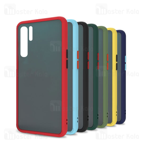 قاب مات Samsung Galaxy Note 10 Plus Transparent Hybrid Matte Case