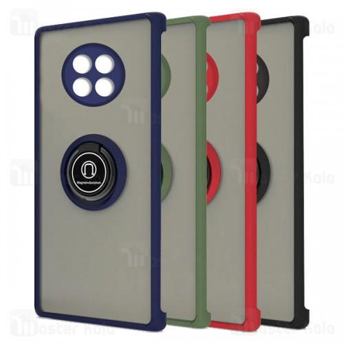 قاب مات هیبریدی انگشتی Huawei Mate 30 Pro Matte Hybrid Ring Case