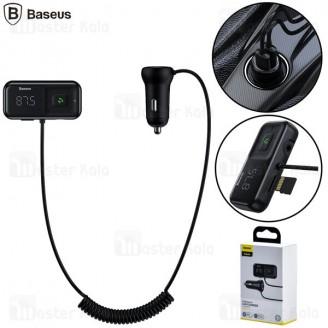 شارژر فندکی و پخش کننده بلوتوث Baseus T Typed S-16 Bluetooth CCTM-D01 / CCTM-E01 رم خور