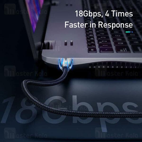 کابل HDMI بیسوس Baseus Horizontal 4K HDMI V2.0 CADSP-C01 طول 3 متر