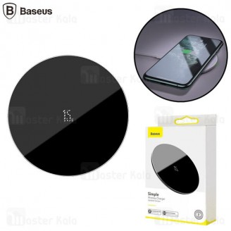 شارژر وایرلس بیسوس Baseus Simple Wireless Charger WXJK-B01 توان 15 وات