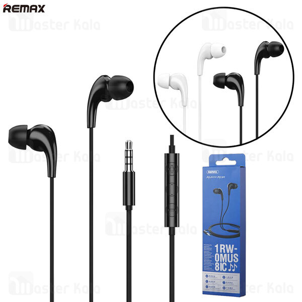 هندزفری سیمی ریمکس Remax RW-108 Wired Earphone