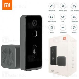 زنگ در هوشمند شیائومی Xiaomi Doorbell 2 MUML02-FJ AI Face Identification 1080p Night Vision Video