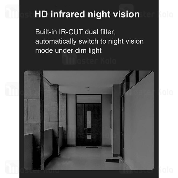 زنگ در هوشمند شیائومی Xiaomi Doorbell 2 Lite MJML03-FJ 720p Night Vision Video