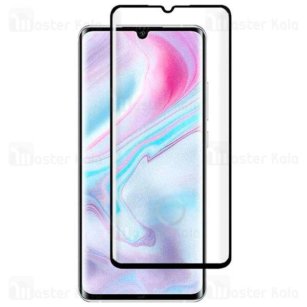 محافظ صفحه شیشه ای تمام صفحه تمام چسب خمیده Xiaomi Mi Note 10 Lite Full Screen Glass