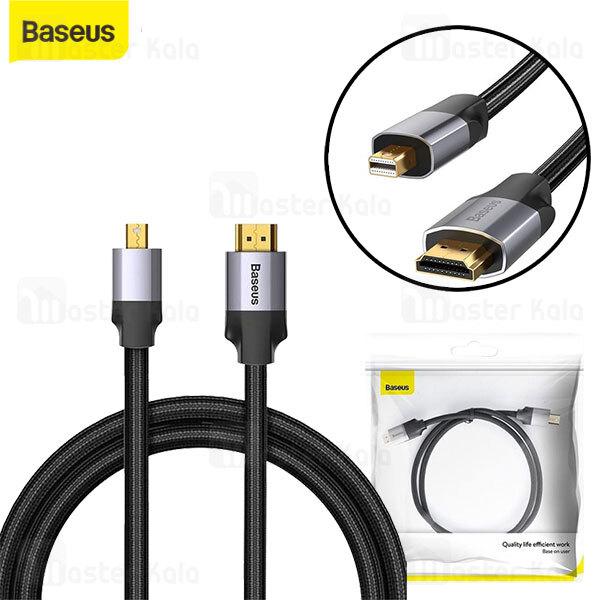 کابل HDMI به Mini DP بیسوس Baseus Enjoyment Series 4K CAKSX-L0G به طول 1 متر
