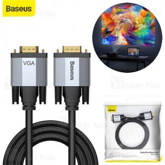 کابل VGA بیسوس Baseus Enjoyment VGA Male To VGA Male CAKSX-T0G به طول 1 متر