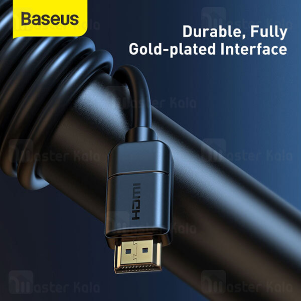 کابل HDMI بیسوس Baseus High Definition Series 4K HDMI V2 Cable CAKGQ-E01 طول 8 متر