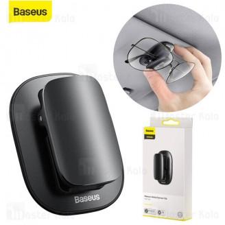 گیره نگهدارنده داخل خودرو بیسوس Baseus Platinum Universal Eyewear Clip ACYJN-A01