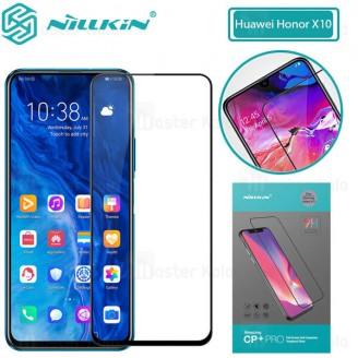 محافظ صفحه شیشه ای تمام صفحه تمام چسب نیلکین Huawei Honor X10 Nillkin CP+ Pro