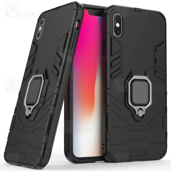 گارد ضد ضربه انگشتی Apple iPhone XS Max KEYSION ShockProof Armor Ring