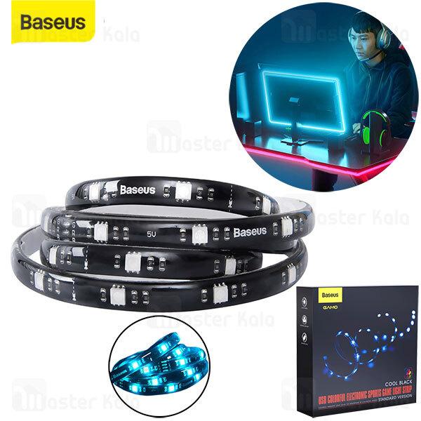 ریسه اس ام دی بیسوس Baseus Gamo Colorful Electronic Light Strip DGKU-01