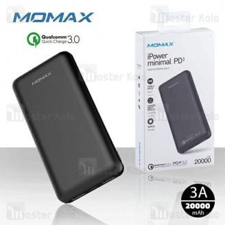 پاوربانک 20000 میلی آمپر مومکس Momax iPower minimal PD3 IP70 فست شارژ QC3.0