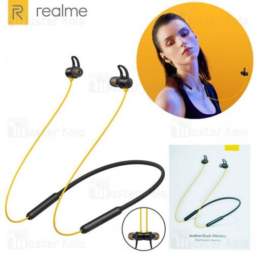 هندزفری بلوتوث ریلمی Realme Buds Wireless RMA108 طراحی مگنتی