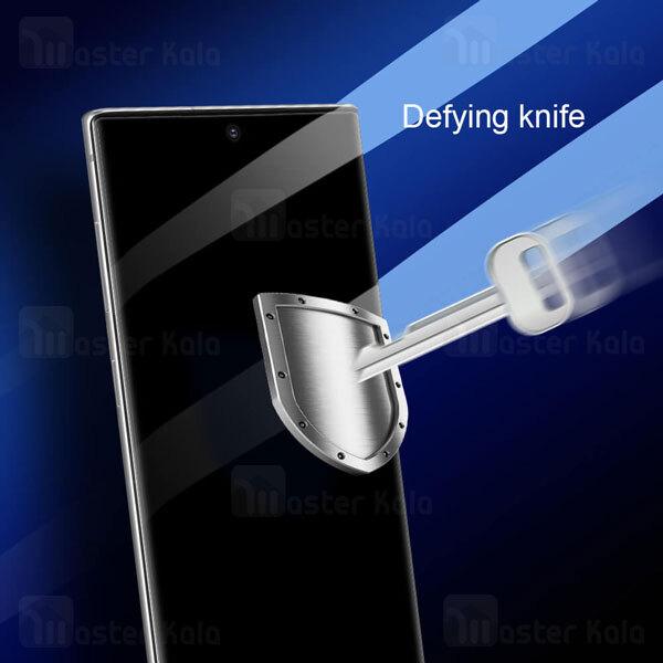 محافظ صفحه شیشه ای دورچسب تمام صفحه نیلکین Samsung Galaxy Note 20 3D CP+ Max