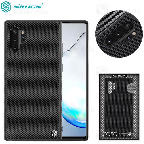قاب فیبر نیلکین سامسونگ Samsung Galaxy Note 10 Plus Nillkin Textured nylon Fiber Case