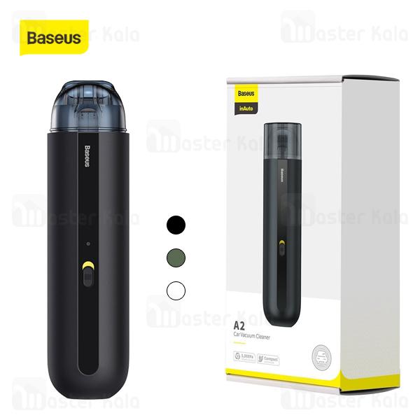 جارو شارژی ماشین بیسوس Baseus A2 Mini Wireless Vacuum Cleaner CRXCQA2-01 70W 5000Pa توان 70 وات