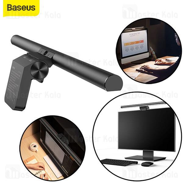 لامپ گیره ای صفحه نمایش بیسوس Baseus i-wok Series Stepless Dimming Light DGIWK-B01