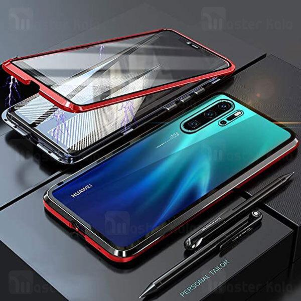 قاب مگنتی 360 درجه Huawei P30 Pro Magnetic 2 in 1 Case دارای گلس صفحه