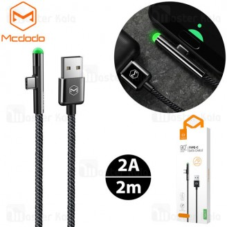 کابل Type C فست شارژ مک دودو Mcdodo CA-6391 QC3.0 Data Cable توان 2 آمپر طول 2 متر