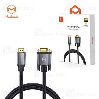 کابل HDMI به VGA مک دودو Mcdodo CA-7770 HDMI To VGA Convertor Cable 2M HD طول 2 متر