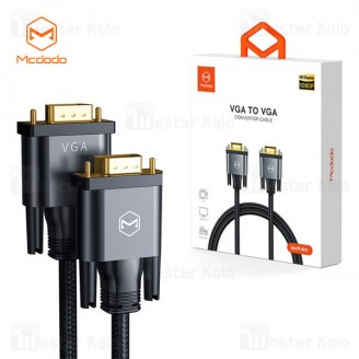 کابل VGA مک دودو ‌Mcdodo CA-778 VGA to VGA Convertor Cable HD 3M طول 3 متر