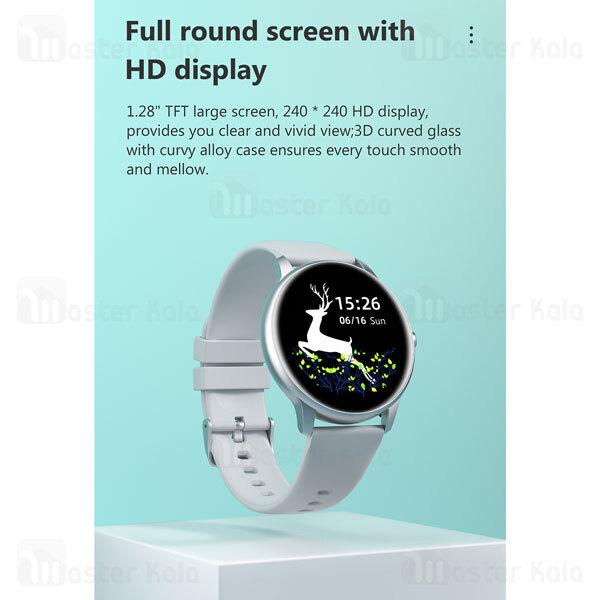 ساعت هوشمند شیائومی Xiaomi IMILAB KW66 Smart Watch نسخه گلوبال + دارای بند اضافه