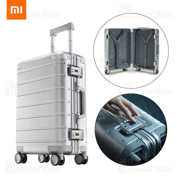 چمدان فلزی شیائومی Xiaomi Metal Carry-On Luggage 20 ظرفیت 31 لیتر