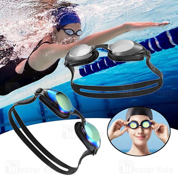 عینک شنا شیائومی Xiaomi Yunmai Swimming Goggles Set همراه با گیره بینی و گوش