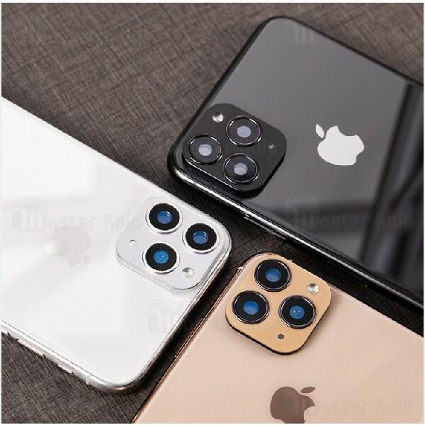 تبدیل لنز فلزی و محافظ دوربین موبایل اپل iPhone X / XS / XS Max Second Change to iPhone 11 Pro