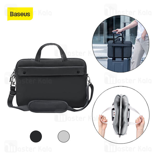 کیف لپ تاپ بیسوس Baseus Basics Series 15 inch Shoulder Computer Bag LBJN-H0G سایز 15 اینچ