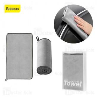 حوله میکروفایبر خودرو بیسوس Baseus Microfiber Towel to Dry CRXCMJ-A0G 40x80