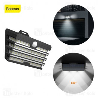 چراغ دیواری بیسوس Baseus Energy Collection Series Solar Body Sensor Wall Lamp DGNEN-C01 سنسور حرکت