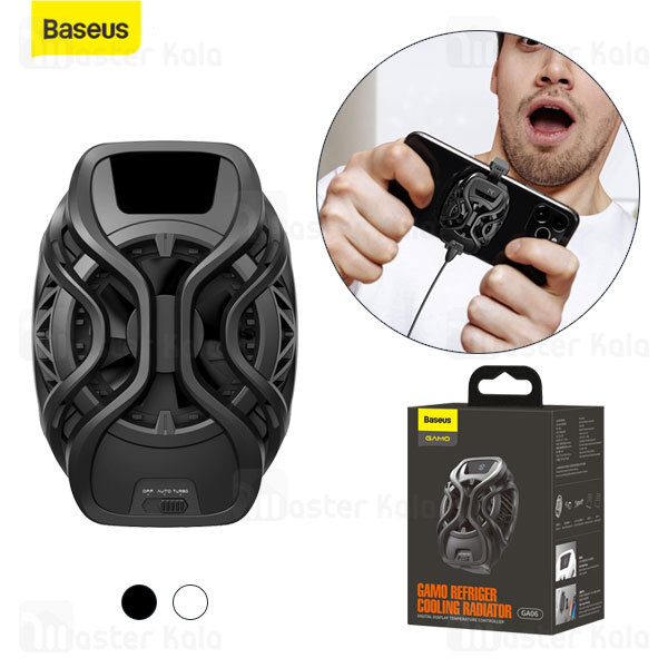 فن گیمینگ موبایل بیسوس Baseus Gamo Refriger Cooling Radiator GMGA06-01